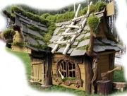 Сказочный домик из массива ДУБА !!!